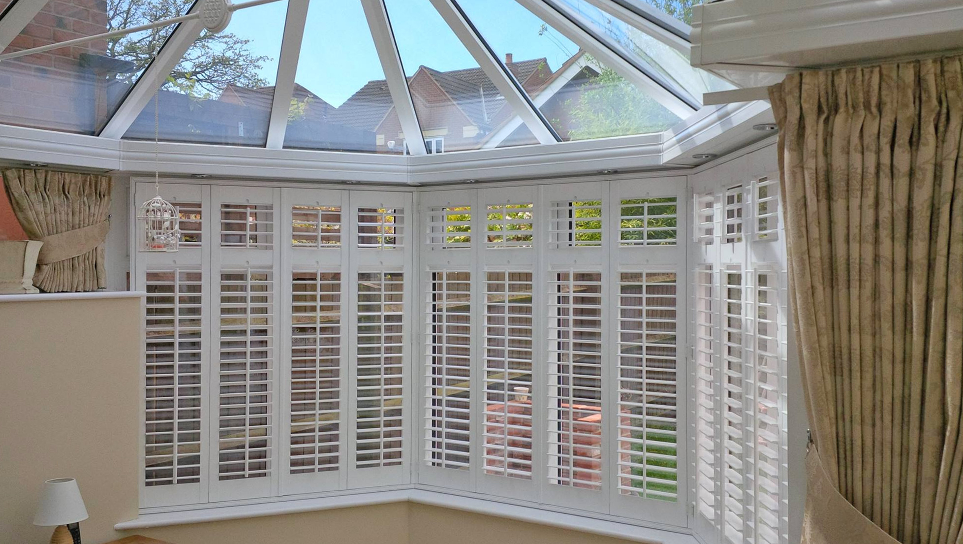conservatory window shutters sussex