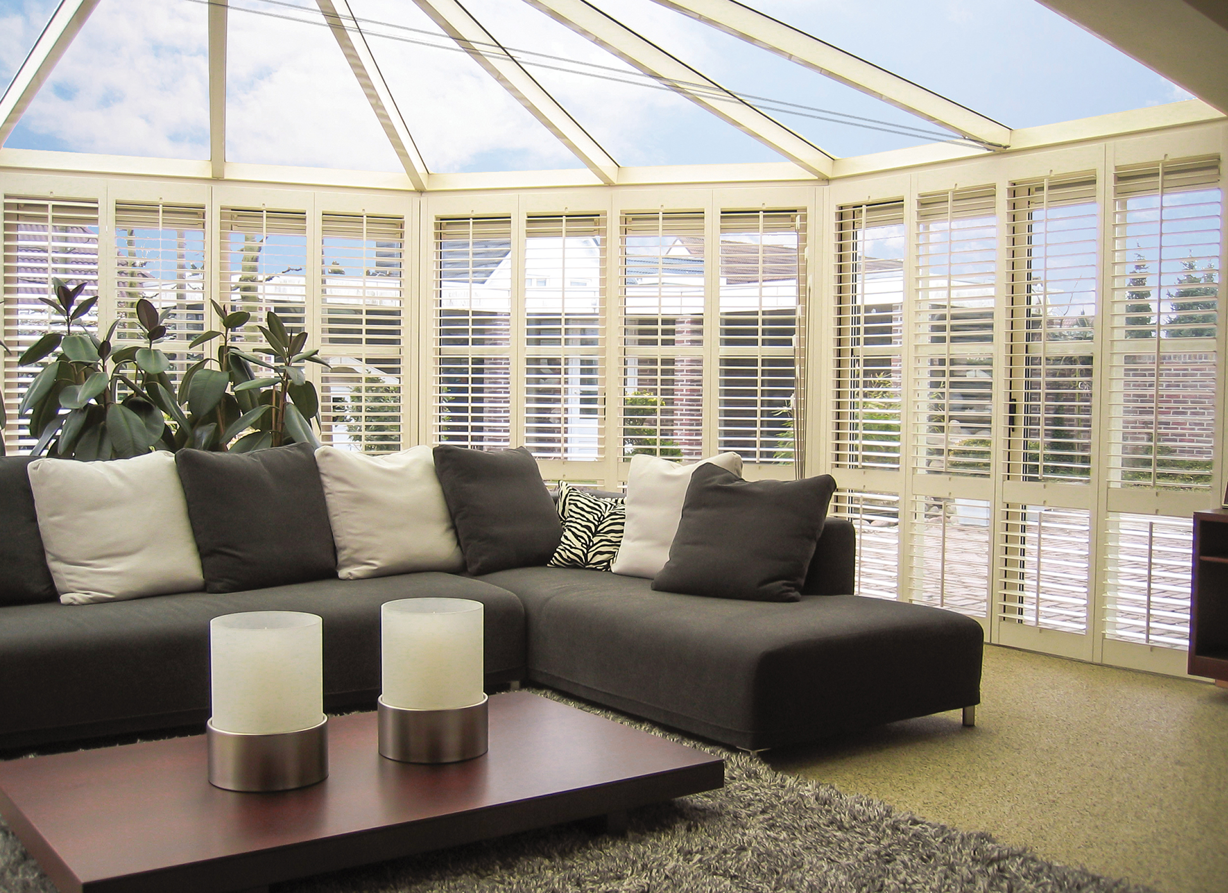 Gallery Photo Conservatory Shutters
