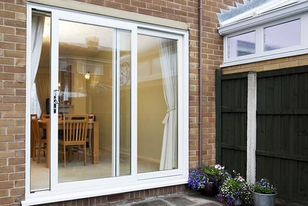 liniar patio doors in Fulham