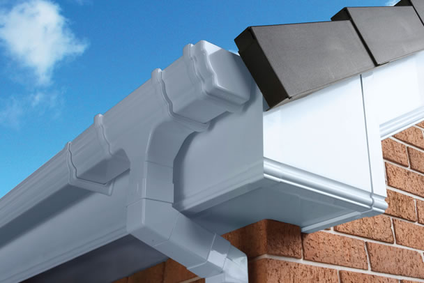 a roofline installation in Fulham